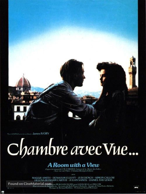 A Room with a View - French Movie Poster