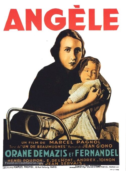Angèle - French Movie Poster