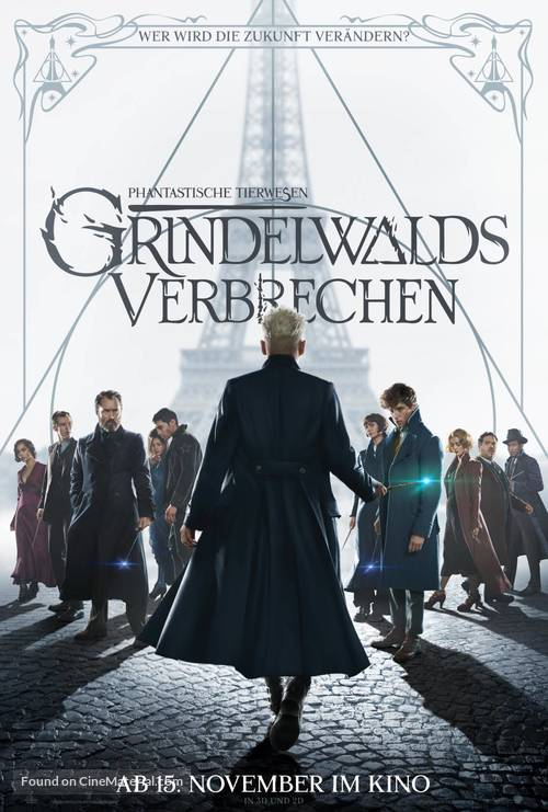 Fantastic Beasts: The Crimes of Grindelwald - Swiss Movie Poster