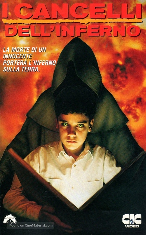 """""""Friday the 13th"""" - Italian VHS movie cover"""