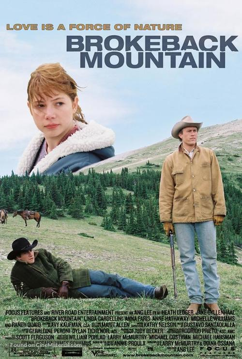 Brokeback Mountain 2005 Movie Poster