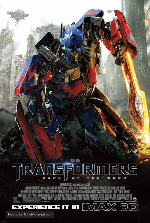Transformers: Dark of the Moon - Movie Poster