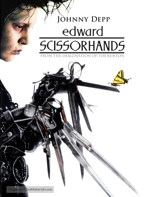 Edward Scissorhands - DVD movie cover