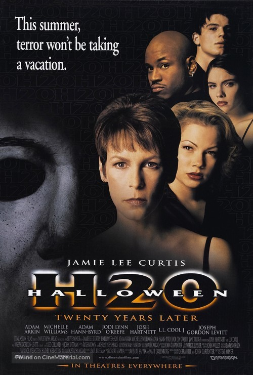 Halloween H20: 20 Years Later - Movie Poster
