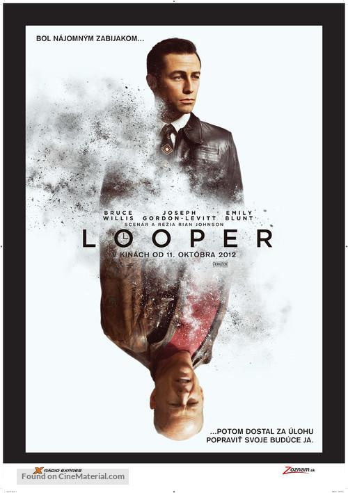 Looper - Slovak Movie Poster