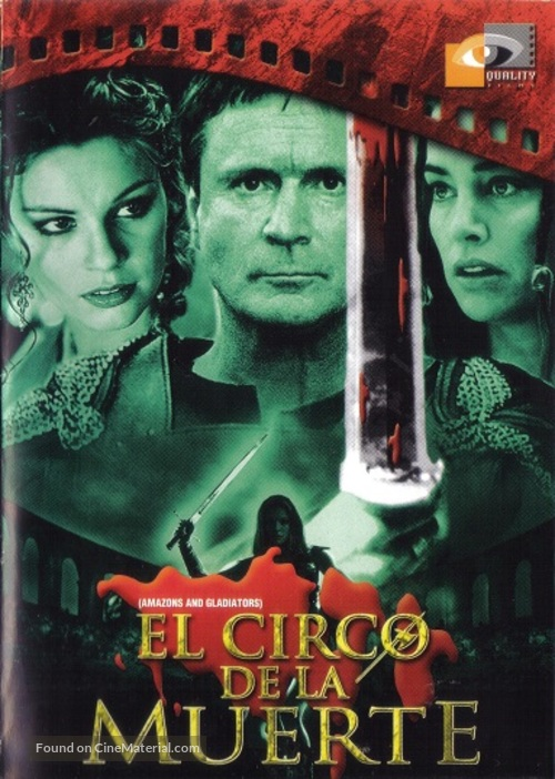 Amazons and Gladiators - Mexican DVD movie cover