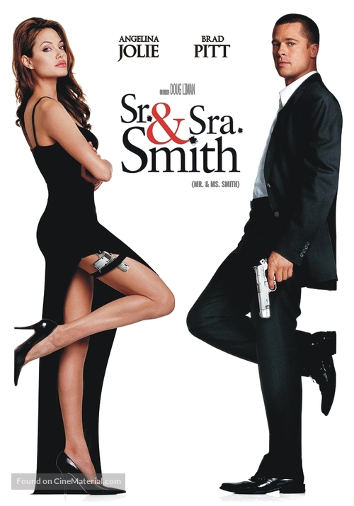 Mr. & Mrs. Smith - Argentinian DVD movie cover