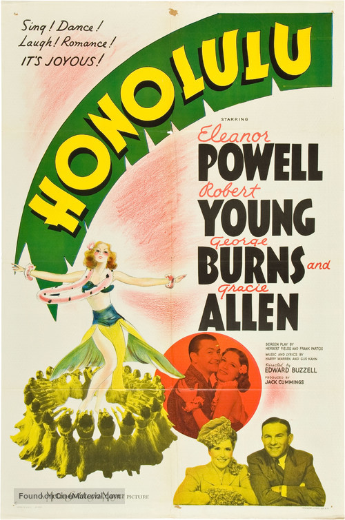 Honolulu - Movie Poster