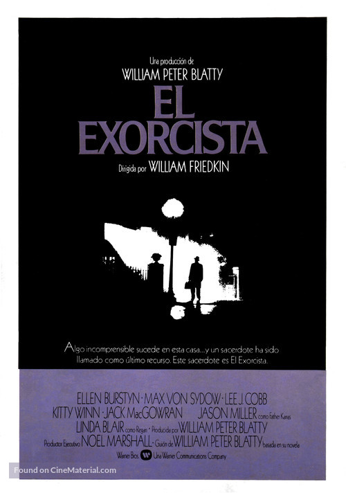 The Exorcist - Spanish Movie Poster
