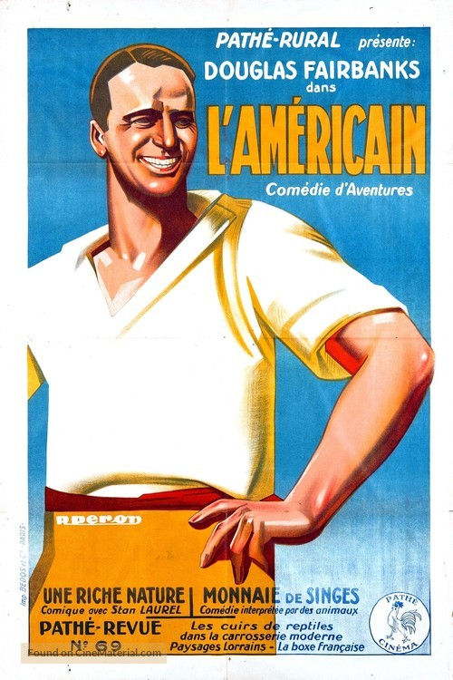 The Americano - French Movie Poster