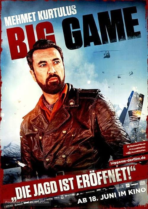 Big Game - German Movie Poster