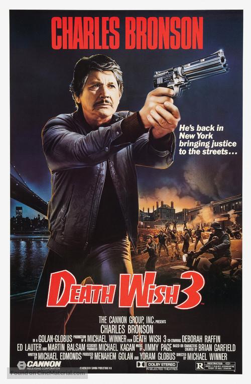 Death Wish 3 - Movie Poster