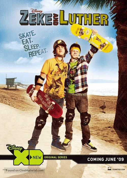 """""""Zeke and Luther"""" - Movie Poster"""