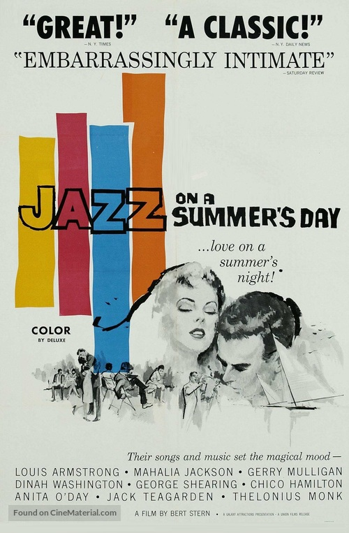 Jazz on a Summer's Day - Movie Poster