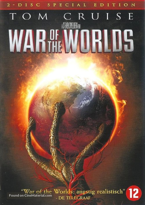 War of the Worlds - Dutch DVD movie cover