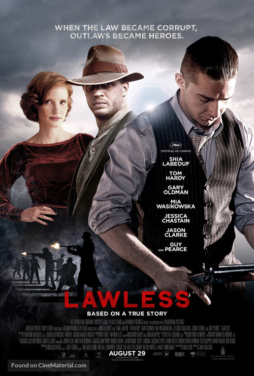 Lawless - Movie Poster