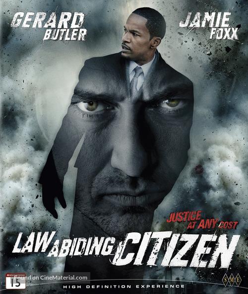 Law Abiding Citizen - Norwegian Blu-Ray movie cover