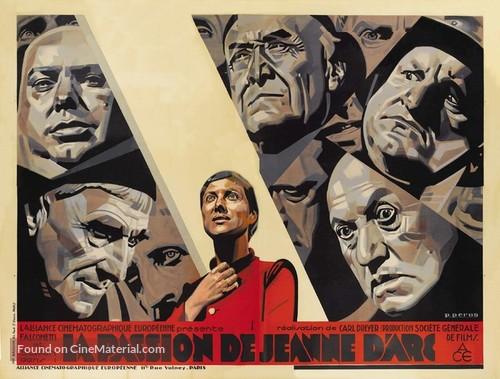 La passion de Jeanne d'Arc - French Movie Poster