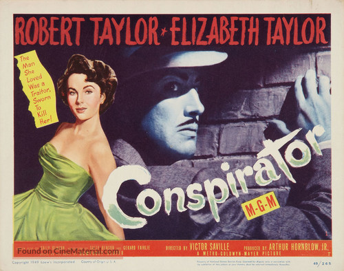Conspirator - Movie Poster