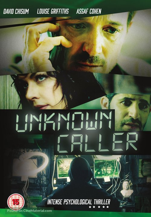 Unknown Caller - British DVD movie cover
