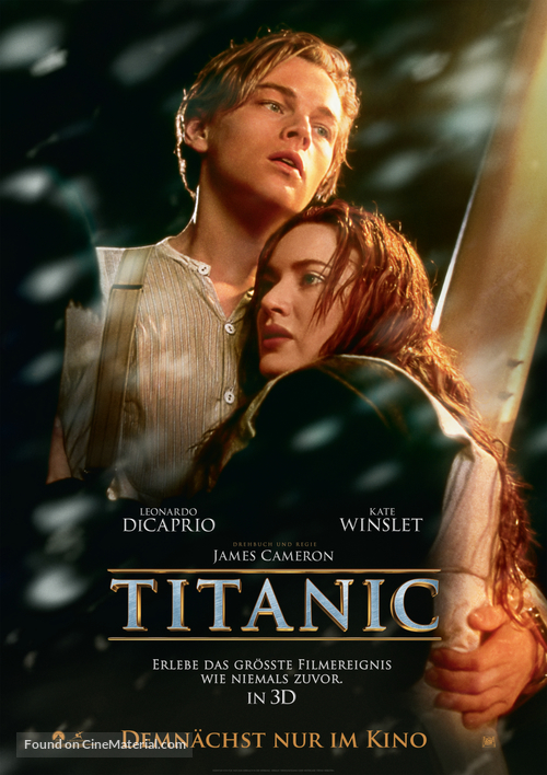 Titanic - German Movie Poster