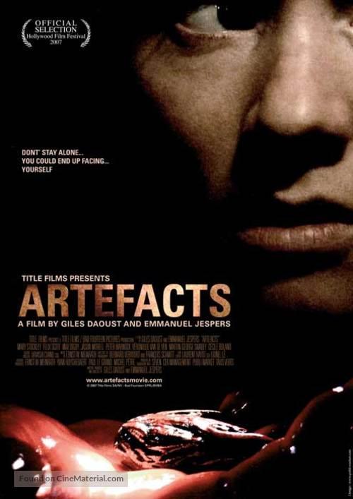 Artefacts - Belgian Movie Poster