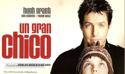 About a Boy - Argentinian poster