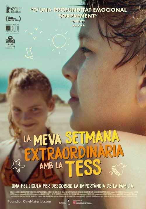 My Extraordinary Summer with Tess - Andorran Movie Poster