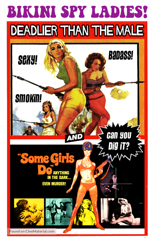 Deadlier Than the Male - Combo poster