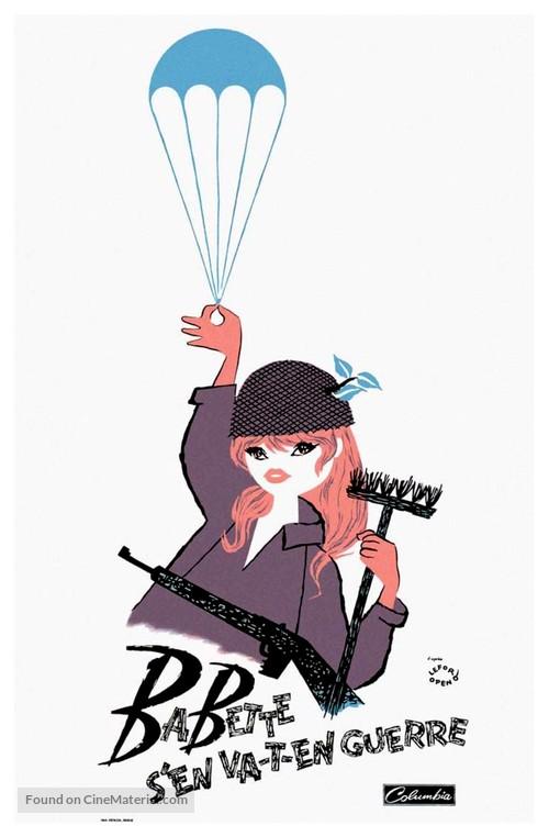 Babette s'en va-t-en guerre - French Movie Poster