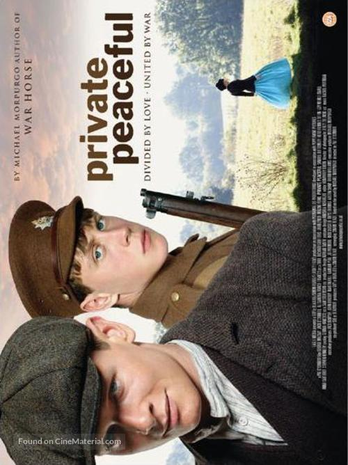 Private Peaceful - British Movie Poster