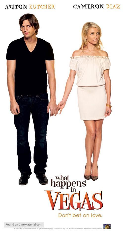 What Happens In Vegas 2008 British Movie Poster