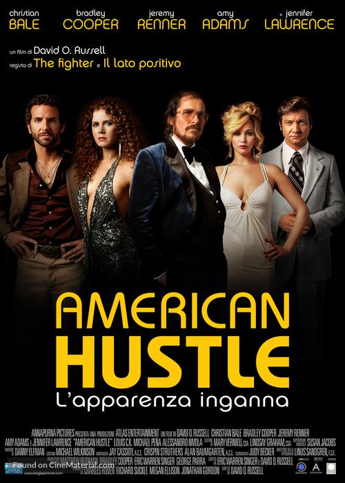 American Hustle - Italian Movie Poster