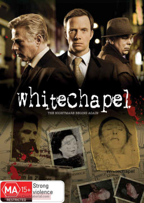 """Whitechapel"" - New Zealand Movie Cover"