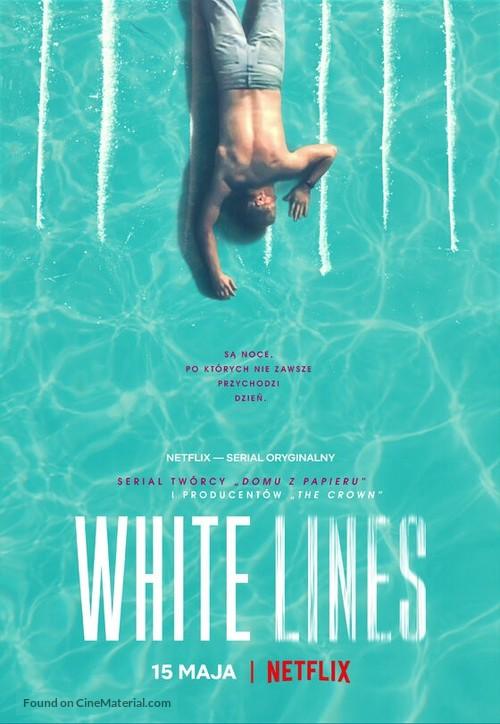 """White Lines"" - Polish Movie Poster"