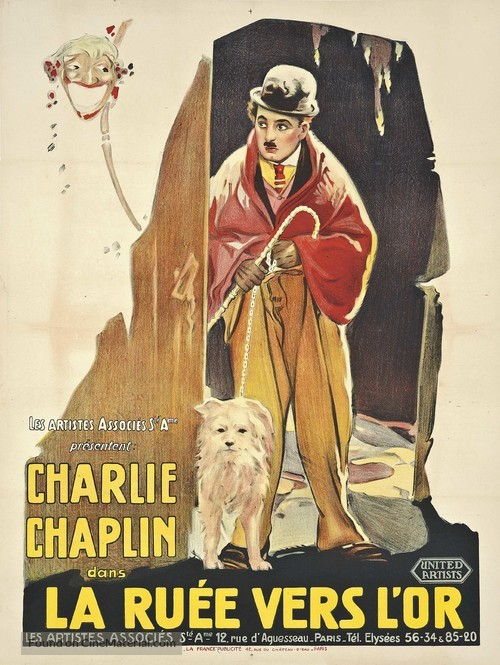 The Gold Rush - French Movie Poster