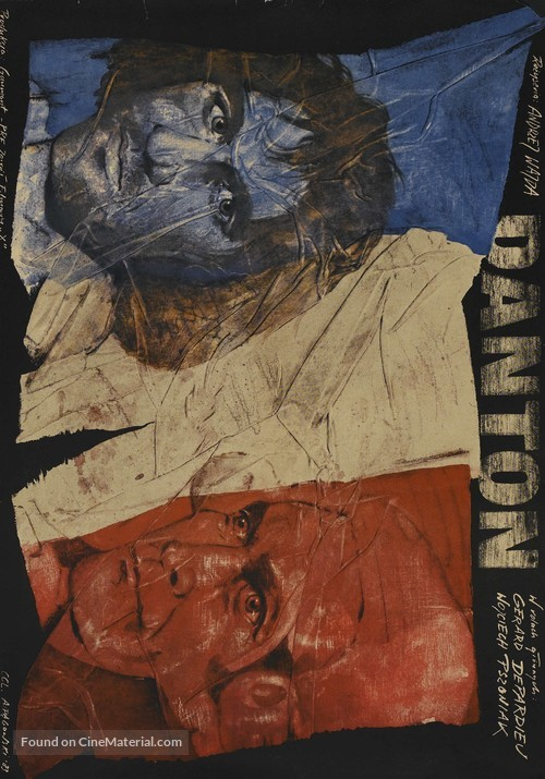 Danton - Polish Movie Poster