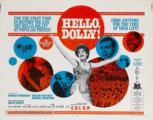 Hello, Dolly! - Movie Poster