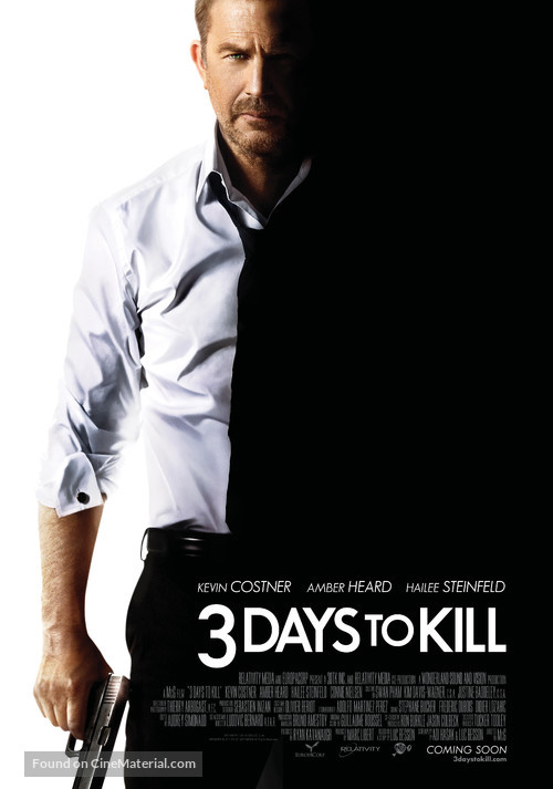 Three Days to Kill - Movie Poster