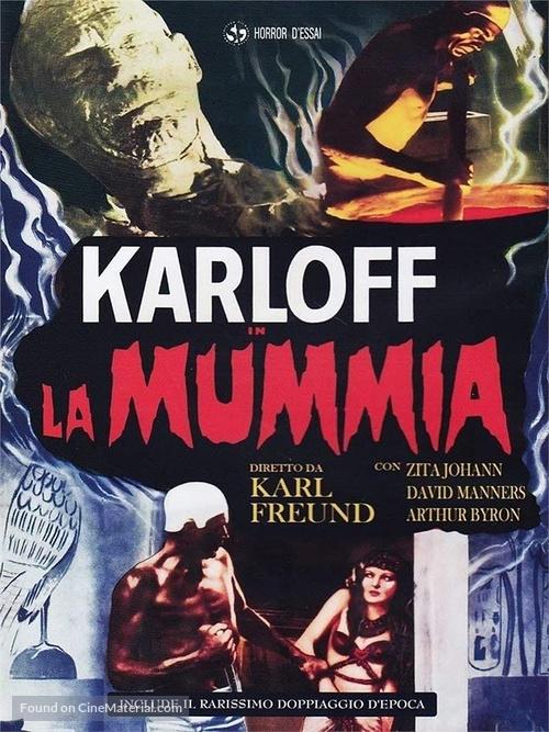 The Mummy - Italian DVD movie cover