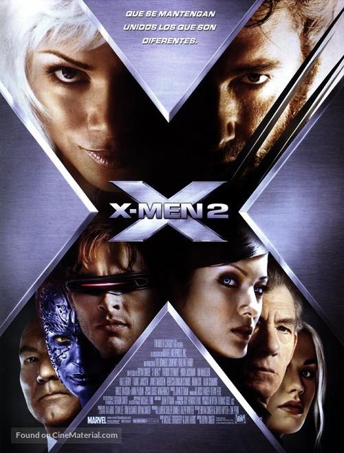 X2 - Spanish Movie Poster