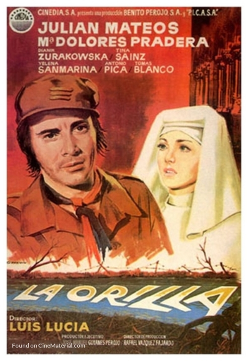 La orilla - Spanish Movie Poster