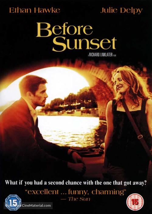 Before Sunset - British DVD movie cover