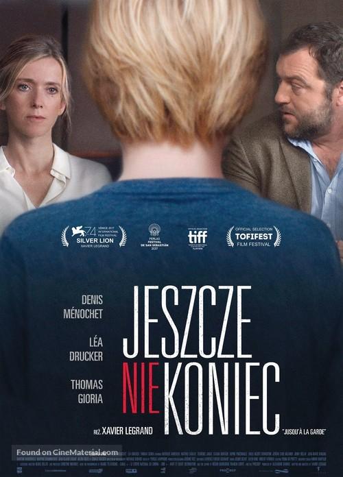Jusqu'à la garde - Polish Movie Poster