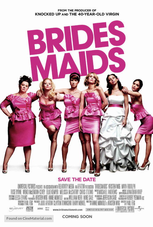 Bridesmaids - Movie Poster