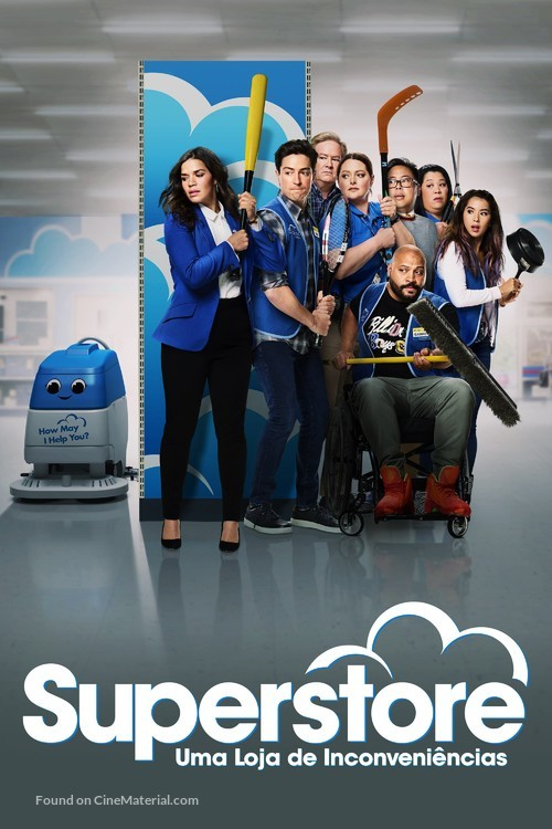 """""""Superstore"""" - Argentinian Movie Cover"""