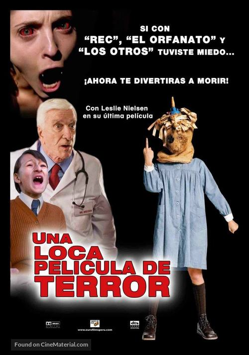 Spanish Movie - Peruvian Movie Poster