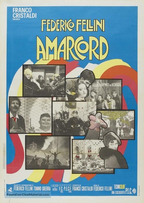 Amarcord - Italian Movie Poster