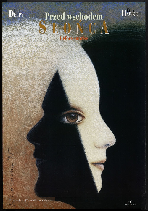Before Sunrise - Polish Movie Poster