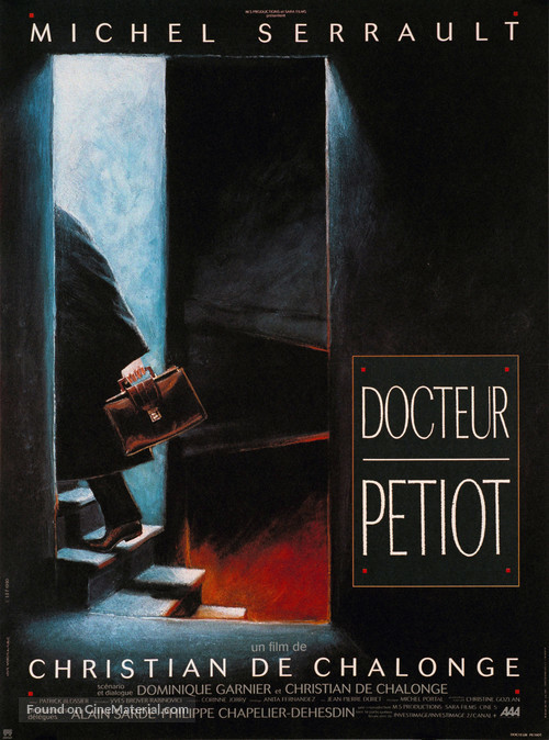 Docteur Petiot - French Movie Poster